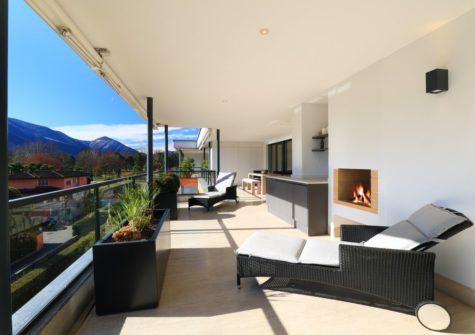 200.58-Luxuriöse Attikawohnung Nähe See und Golfplatz in Ascona
