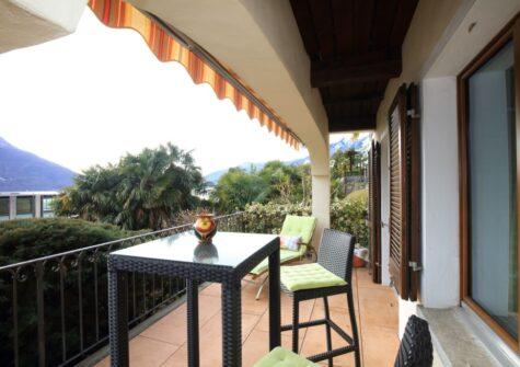 200.61 charmante 2 ½-Zimmerwohnung an zentraler Lage in der  Nähe vom See in Brissago